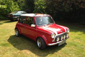 1998 ROVER MINI COOPER RED/WHITE  Photo