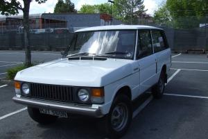1975 ROVER RANGE ROVER WHITE - 2 DOOR - 2.5 DIESEL  Photo