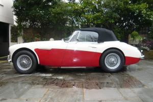 1964 Austin Healey 3000 Mk III.  Photo