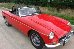 WONDERFUL MGB V8 ROADSTER 1971 TAX EXEMPT NO RESERVE
