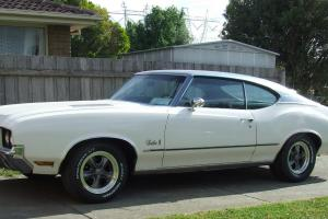 1972 Oldsmobile Cutlass S IN VGC Currently ON Victorian Club Permit Plates in Melbourne, VIC