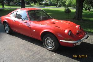 1970 Opel GT - Fire Glow Orange ( looks Red) Photo