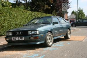 AUDI UR QUATTRO ( WR not MB or RR) 1987 Green no reserve