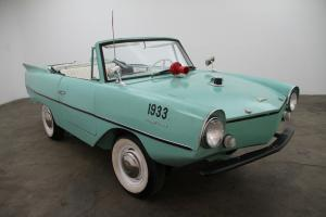 1964 Amphicar 770 Convertible, turquoise with tuxedo interior,  amphibious