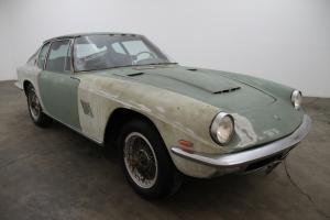 1964 Maserati Mistral, matching numbers, black interior, borrani wire wheels