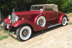 1933 Packard Eight Convertible Coupe Gibbons reproduction Classic Hot Rod Nice