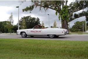 1973 Cadillac Eldorado Convertible Pace Car 49K Actual Miles Factory AC Original