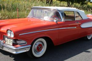 1958 FORD EDSEL 2 DOOR CONVERTIBLE