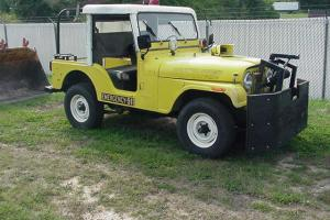 1982 Jeep CJ Fire Department 4 wheel Drive 1-Owner