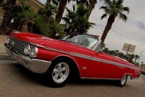 1962 FORD GALAXIE 500 SUNLINER CONVERTIBLE 390 TRI POWER 4 SPEED NO RESERVE!