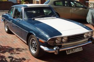 Triumph Stag 1977 1978 registered road car, race car, track-day car, fun Stag