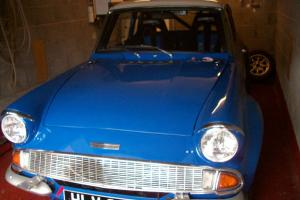 FORD ANGLIA RALLY CAR UNFINISHED PROJECT