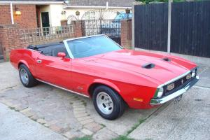 1972 FORD MUSTANG 351 COBRAJET AUTO CONVERTIBLE Q CODE