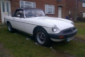 MGB Roadster sports convertable.  Photo