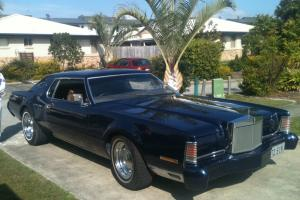 Rare 1973 Lincoln Continental 2 Door Coupe in Brisbane, QLD