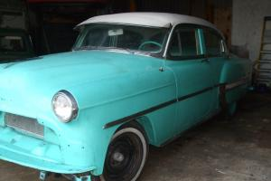 1953 chevrolet belair project