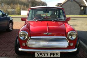 2000 CLASSIC ROVER MINI SEVEN RED NEW SPEC