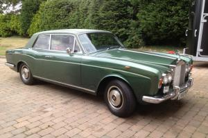 1974 Rolls Royce Corniche Coupe A good car with Service History, Tax and MOT