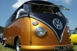 1966 Vw custom Splitscreen 15 window deluxe split screen camper van  Photo