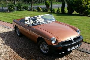 1981 MG B BRONZE  Photo
