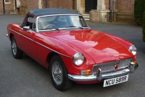 1976 MGB Roadster 1.8cc Soft Top Convertible Chrome Bumper  Photo