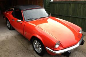 1981 TRIUMPH SPITFIRE 1500 RED  Photo