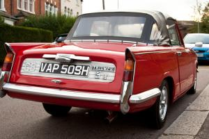 Triumph Vitesse MkII 2.0L Convertible For Sale (1970)  Photo