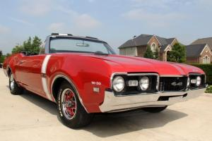 1968 442 Clone Convertible 455 Red Black Restored WOW
