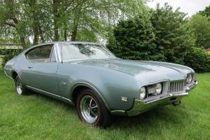 1968 OLDS CUTLASS SUPREME  39,000 MILES PROTECT-O-PLATE