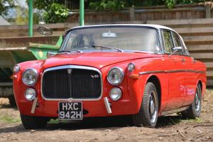 Hotrod Rover P5b Coupe,300hp 3.9 V8, TVR ported heads Kent cams. Goes like stink