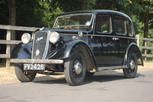 1936 AUSTIN 10/4 CAMBRIDGE, NO RESERVE