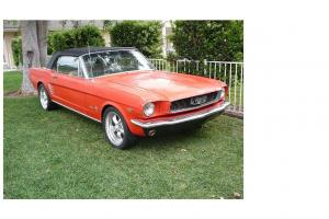 1966 Ford Mustang Convertible 289 V8 Auto in Loddon, VIC