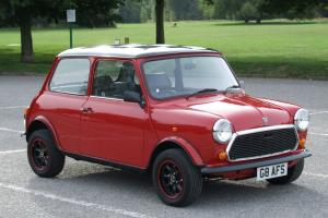 1992 ROVER MINI 1000 CITY E RED  Photo