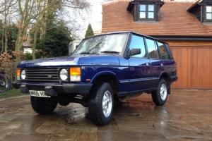 Range Rover Classic soft dash on springs (original) with LPG conversion