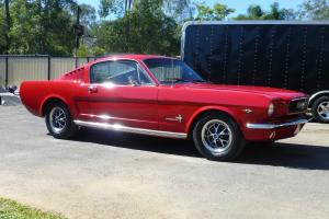 Mustang Fastback 1966 Factory A Code Ford Mustang 1966 Fastback in Brisbane, QLD