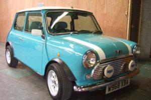 Rover Mini Cooper Surf Blue 2000 W  Photo
