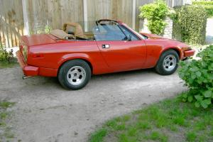 TRIUMPH TR7 V8 CONVERTIBLE, RED,3.9,FULL MOT