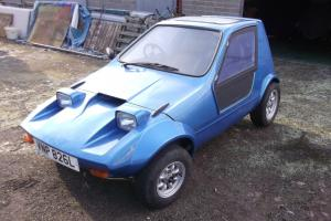 Bond Bug Webster 4 Wheel No.3 Of 22 Rare Micro Car 18 Miles Since New