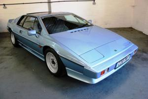 Lotus Esprit Turbo 1985 Blue Metallic Great Looking Car