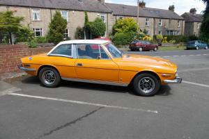 Triumph Stag Auto, Original Engine, Includes Private Registration 6561 PX