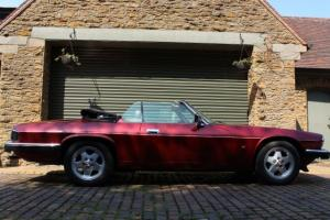 1993 JAGUAR XJ-S CONVERTIBLE 4.0 AUTO RED 54K swap px exchange deal  Photo