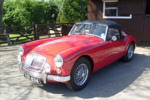 1960 MGA Roadster 1600 finished in Chariot Red with Black leather trim  Photo