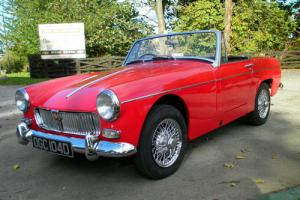 1966 MG Midget MkII in Tartan Red  Photo
