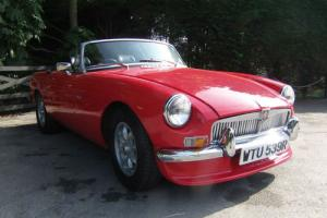 1977 MGB Roadster V8  Photo