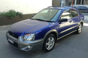 2004 Subaru Impreza RV AWD Hatch Manual 81 175km Only Leather NO Reserve in Sydney, NSW