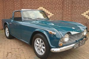 1967 Triumph TR4a Right Hand Drive Original UK CAR Surrey Top Overdrive Project