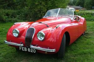 Jaguar XK120 open two seater  Photo