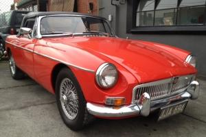 65 MGB Roadster  Photo