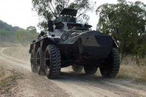 Saracen APC in Northern, NSW