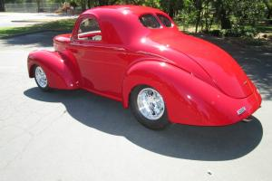 outlaw willys coupe 550hp ramjet502 fuel injected